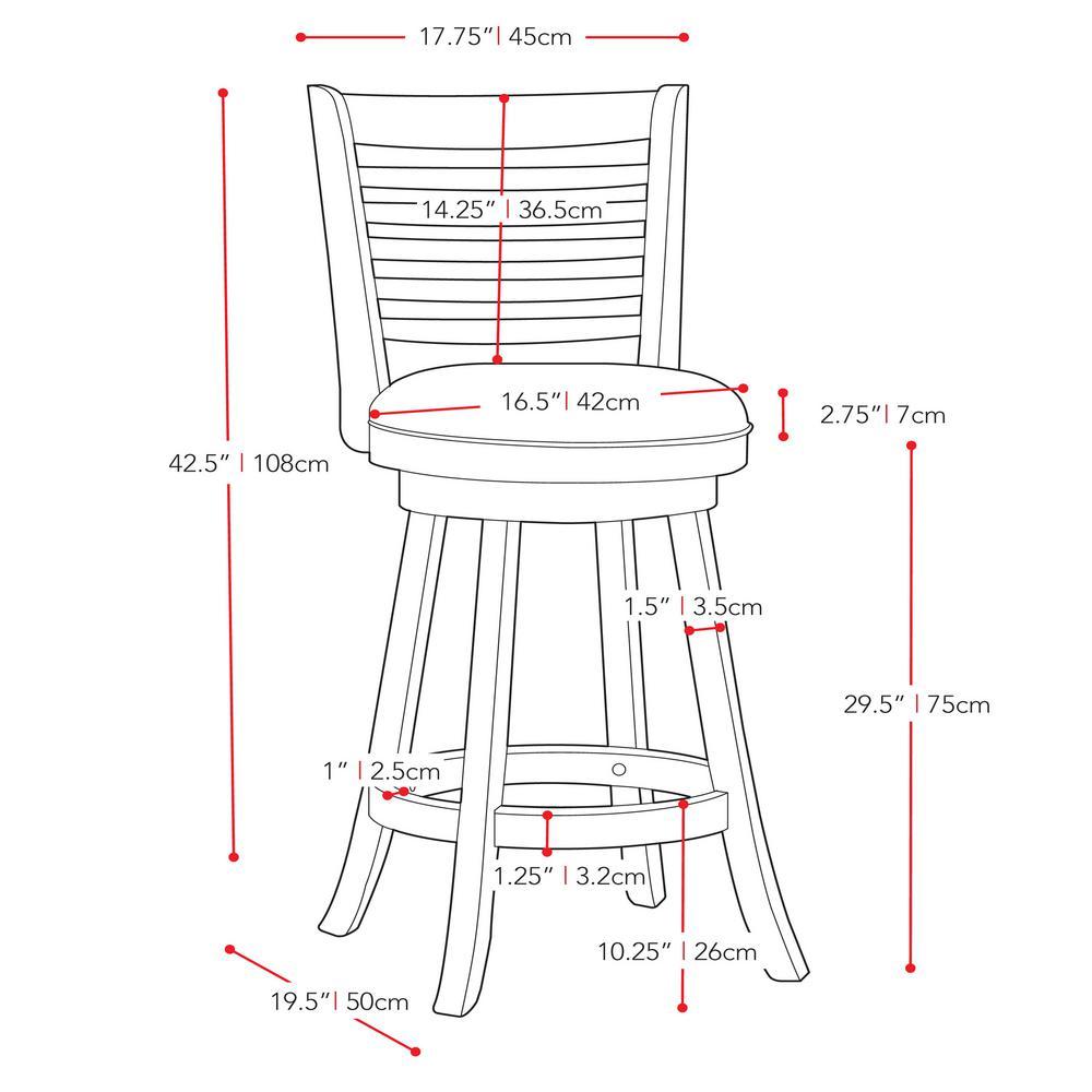 Bar Stool Drawing Dwg