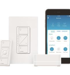 lutron caseta wireless smart lighting dimmer switch  [ 1000 x 1000 Pixel ]