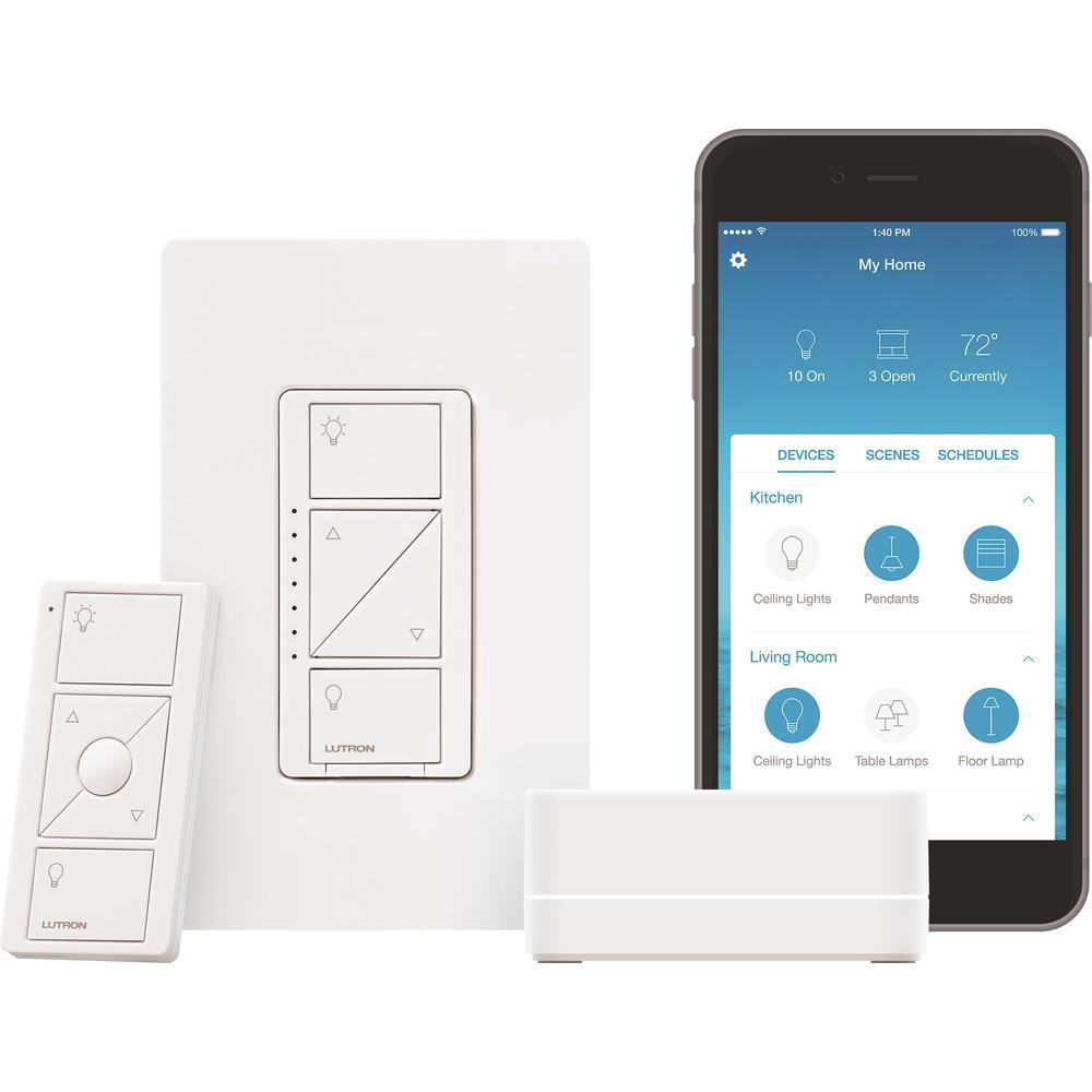two gang light switch wiring diagram ford ranger xlt 2017 alexa smart switches lighting the home depot caseta wireless dimmer starter kit