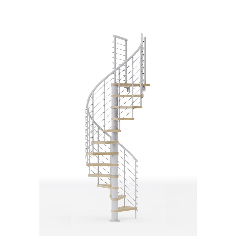 Mylen STAIRS Hayden White Interior 42in Diameter, Fits