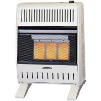 Reddy Heater 18,000 - 20,000 BTU Infrared Dual-Fuel Wall ...