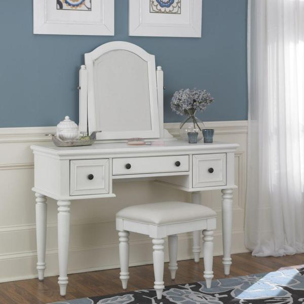 Makeup Vanities - Bedroom Furniture Home Depot