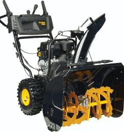 poulan pro pr270 27 in two stage electric start gas snow blower [ 1000 x 1000 Pixel ]