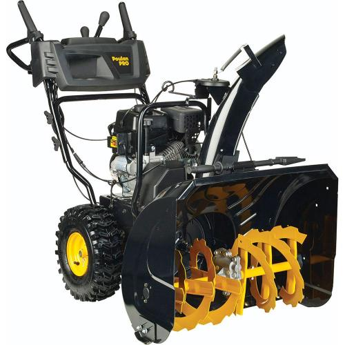 small resolution of poulan pro pr270 27 in two stage electric start gas snow blower