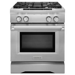 Kitchen Aid Stove Hgtv Cabinets Kitchenaid 4 1 Cu Ft Commercial Style Slide In Dual Fuel Range
