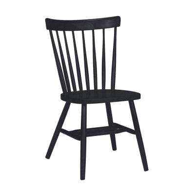 farmhouse dining chairs hon volt task chair reviews kitchen room black copenhagen