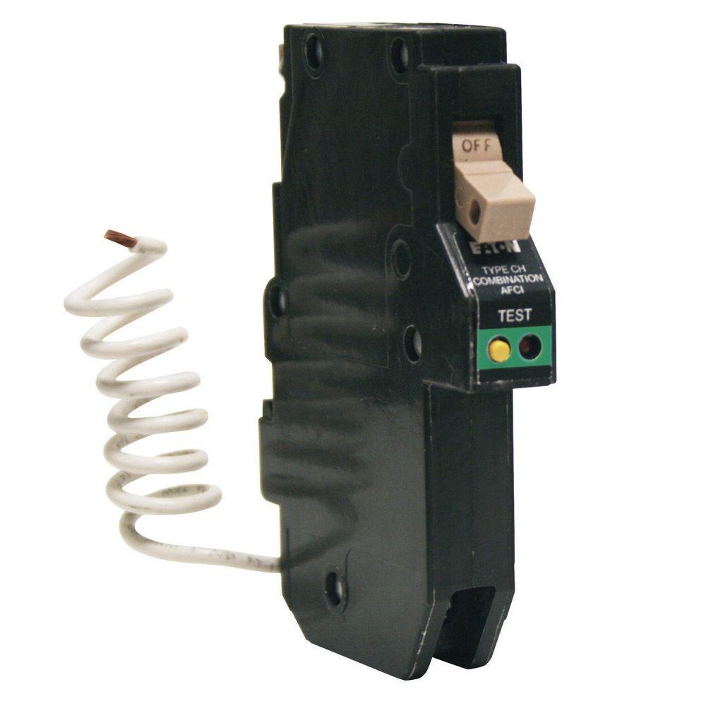 medium resolution of  eaton 1 pole breakers chcaf120cs 64 1000 eaton type br 20 amp single pole ground fault circuit