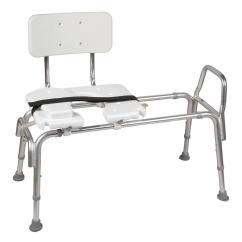 Transfer Shower Chair And A Half Glider Dmi Heavy Duty Sliding Bench With Cut Out Seat 522 1734