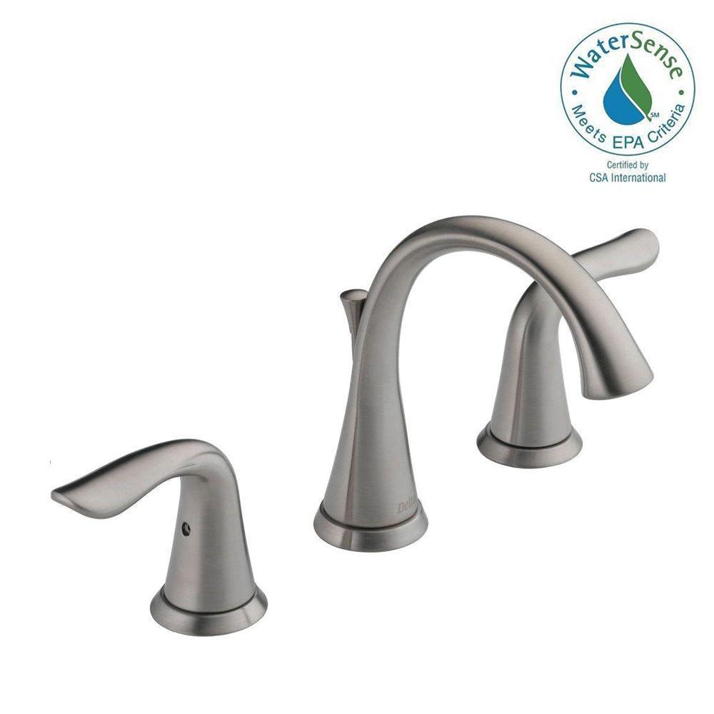 Delta Lahara 8 in Widespread 2Handle Bathroom Faucet
