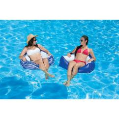 Inflatable Water Chairs For Adults Teal Task Chair Poolmaster Catalina Swimming Pool Float 2 Pack 85620