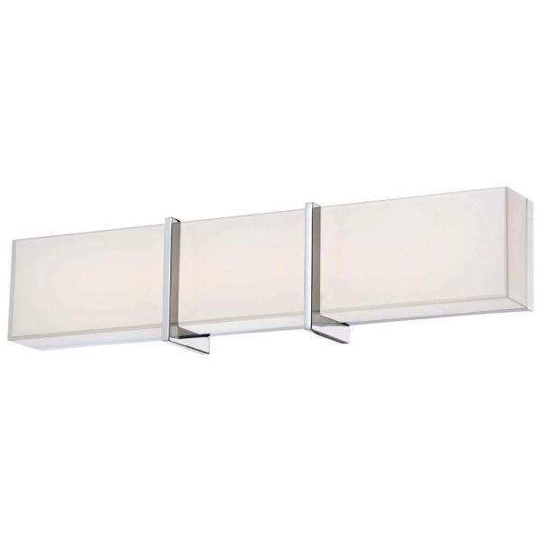 bathroom lighting with outlet image