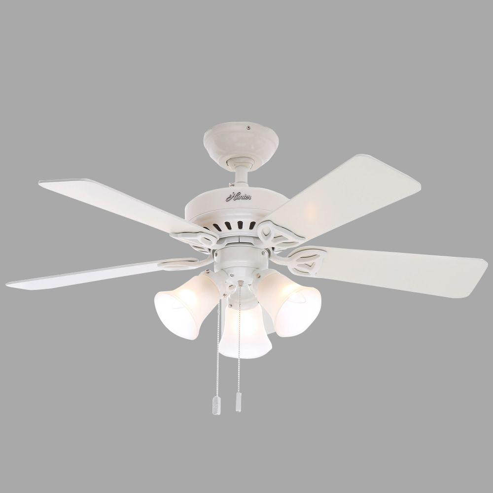 Hunter Beacon Hill 42 in. Indoor White Ceiling Fan with