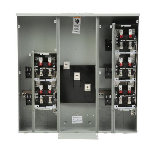 small resolution of siemens uni pak 5 gang 400 amp ringless style multi family metering