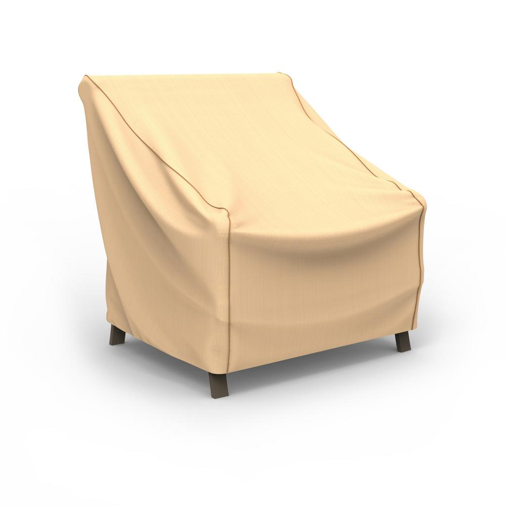 home depot outdoor patio chair covers dining room amazon budge rust oleum neverwet medium tan cover