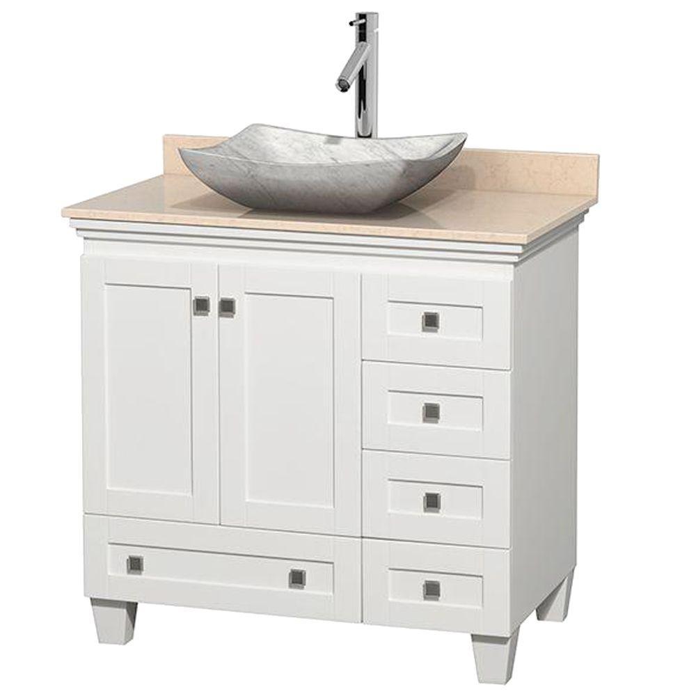 Bathroom Vanity With Bowl Sink On Top