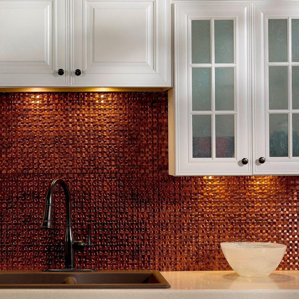 Fasade 24 in. x 18 in. Terrain PVC Decorative Tile