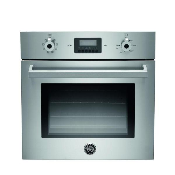 Kitchenaid 24 In. Single Electric Wall Oven -cleaning With Convection In Stainless Steel
