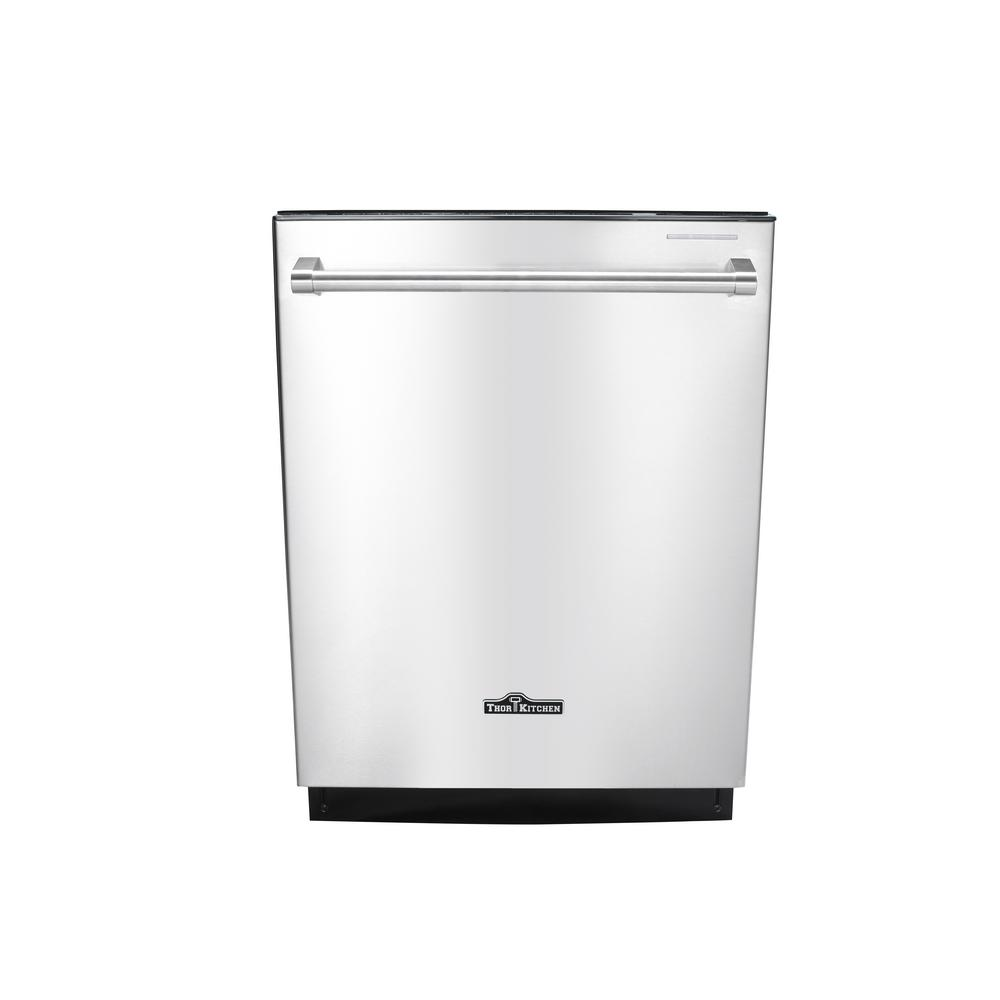 kitchen dishwashers 32 inch undermount sink thor 24 in built top control dishwasher stainless steel