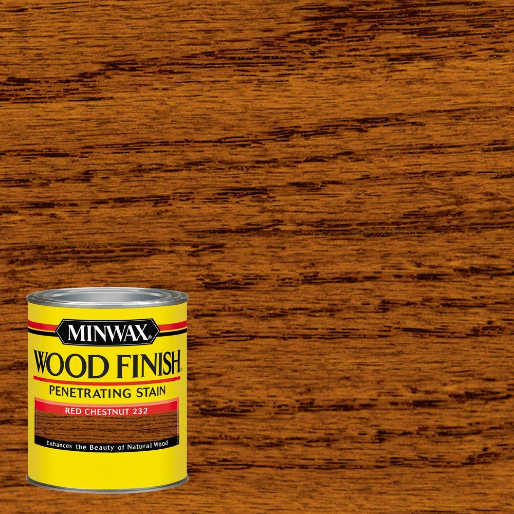 unfinished oak kitchen cabinets home depot rooster decorations for minwax 1 qt. wood finish red chestnut oil based interior ...