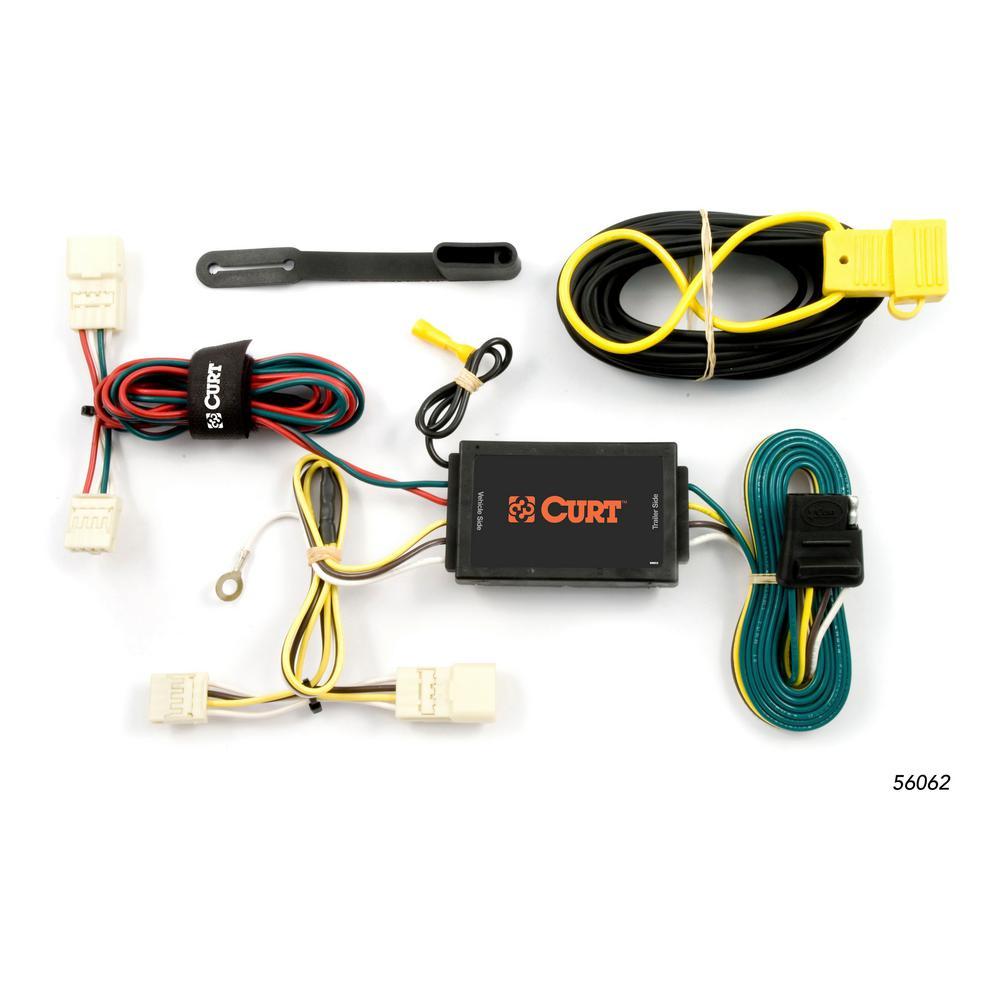 hight resolution of custom wiring harness 4 way flat output