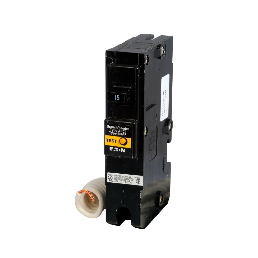 medium resolution of 15 amp single pole fireguard afci type br breaker