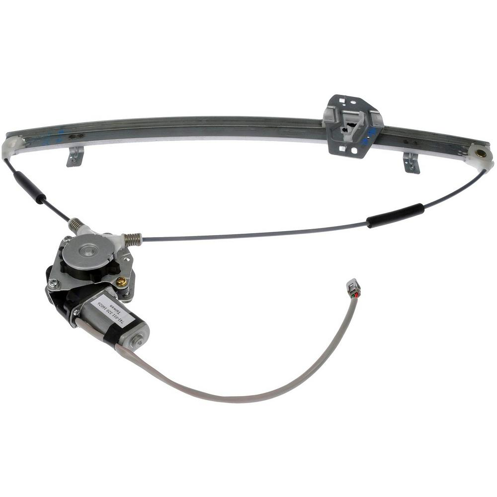 hight resolution of power window regulator and motor assembly 1999 2004 honda odyssey