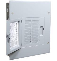 powermark gold 125 amp 14 space 24 circuit indoor main lug circuit breaker panel [ 1000 x 1000 Pixel ]