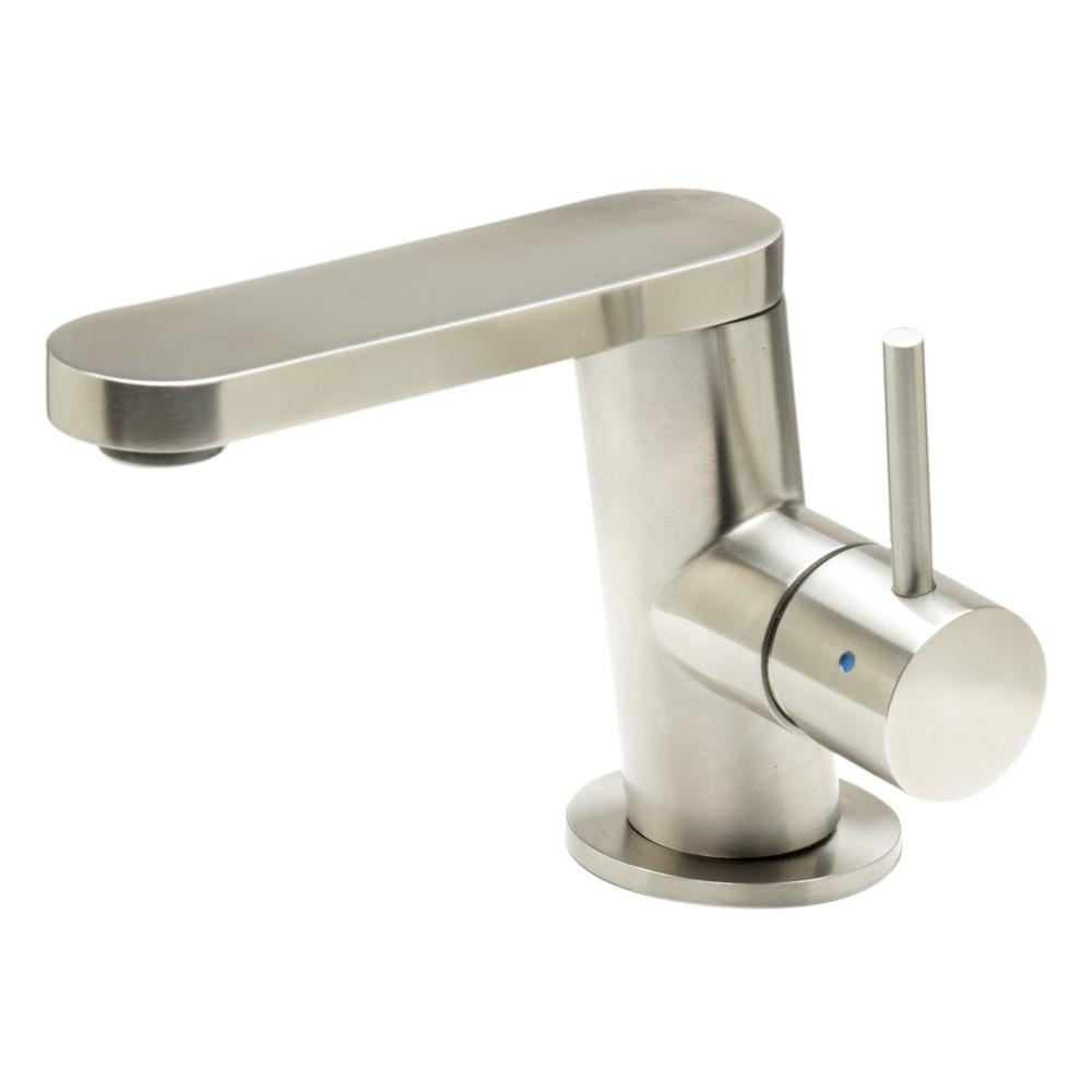 ALFI BRAND Single Hole SingleHandle Bathroom Faucet in Brushed Stainless SteelAB1010BSS  The