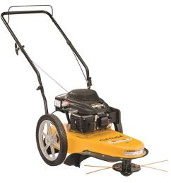 159cc gas walk behind string trimmer mower [ 1000 x 1000 Pixel ]