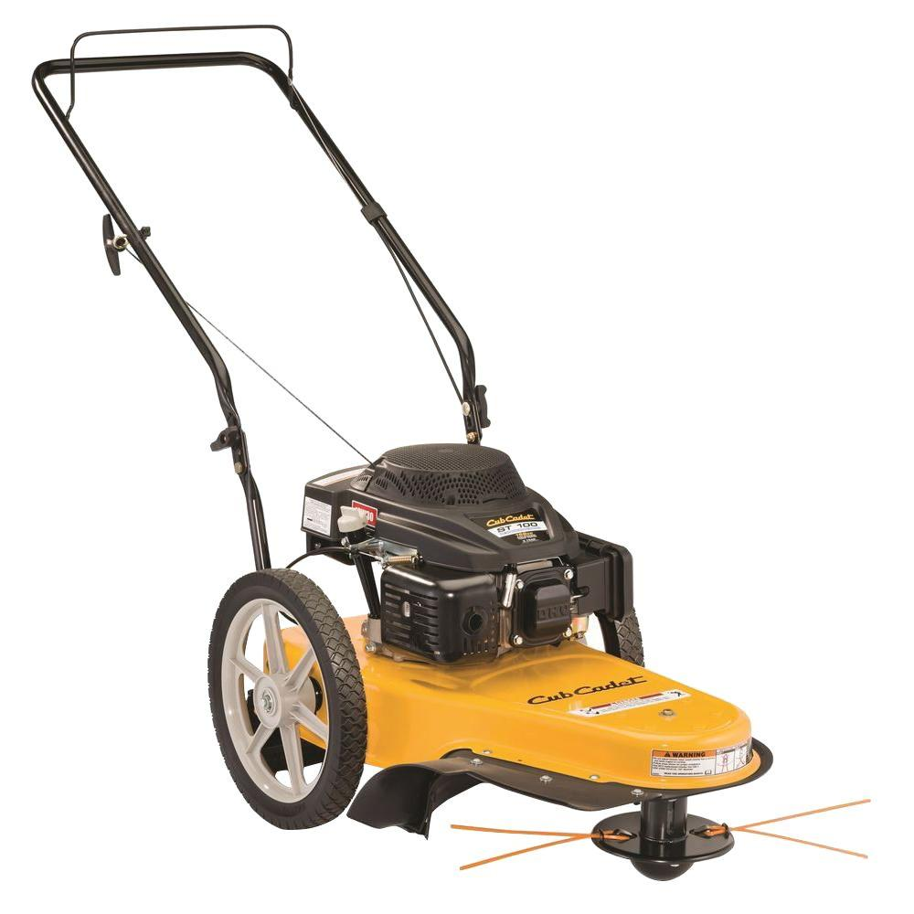 medium resolution of 159cc gas walk behind string trimmer mower