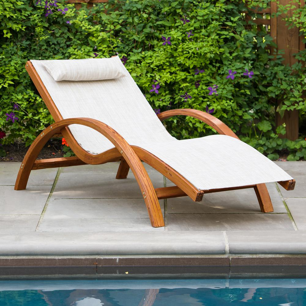 Outside Lounge Chairs Leisure Season Sling Patio Lounge Chair