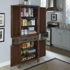 Kitchen Pantry Closet Free Standing Storage White Pantries Dining Room Furniture The Home Depot Barnside Weather Aged Food