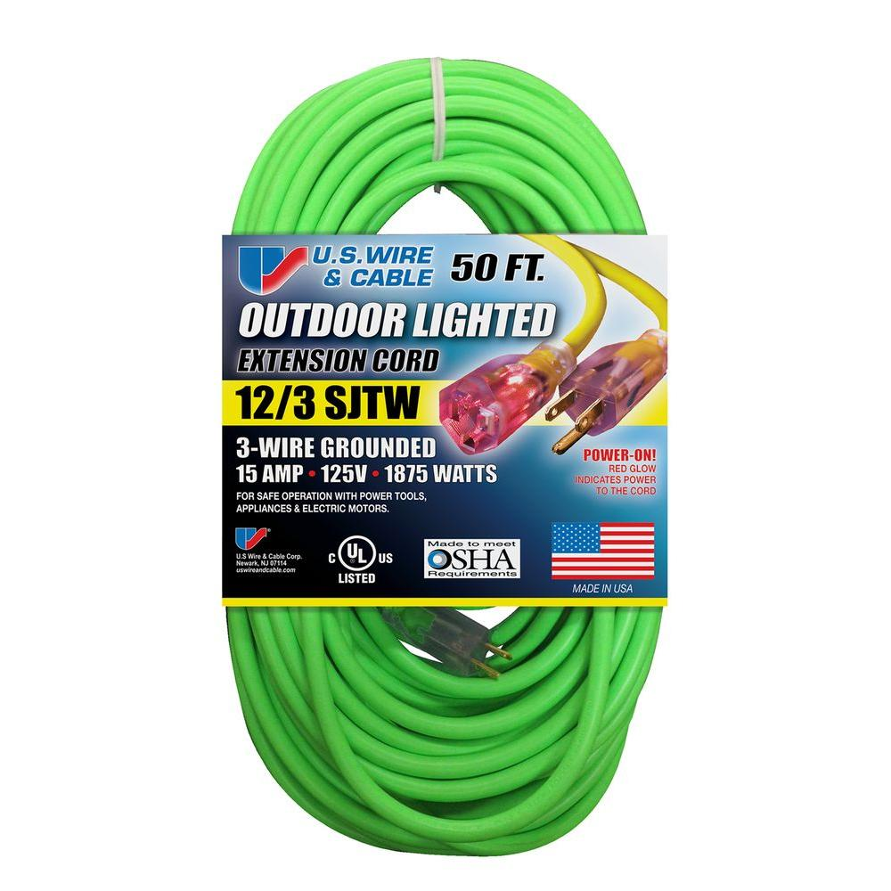 12 3 Wire Extension Cord