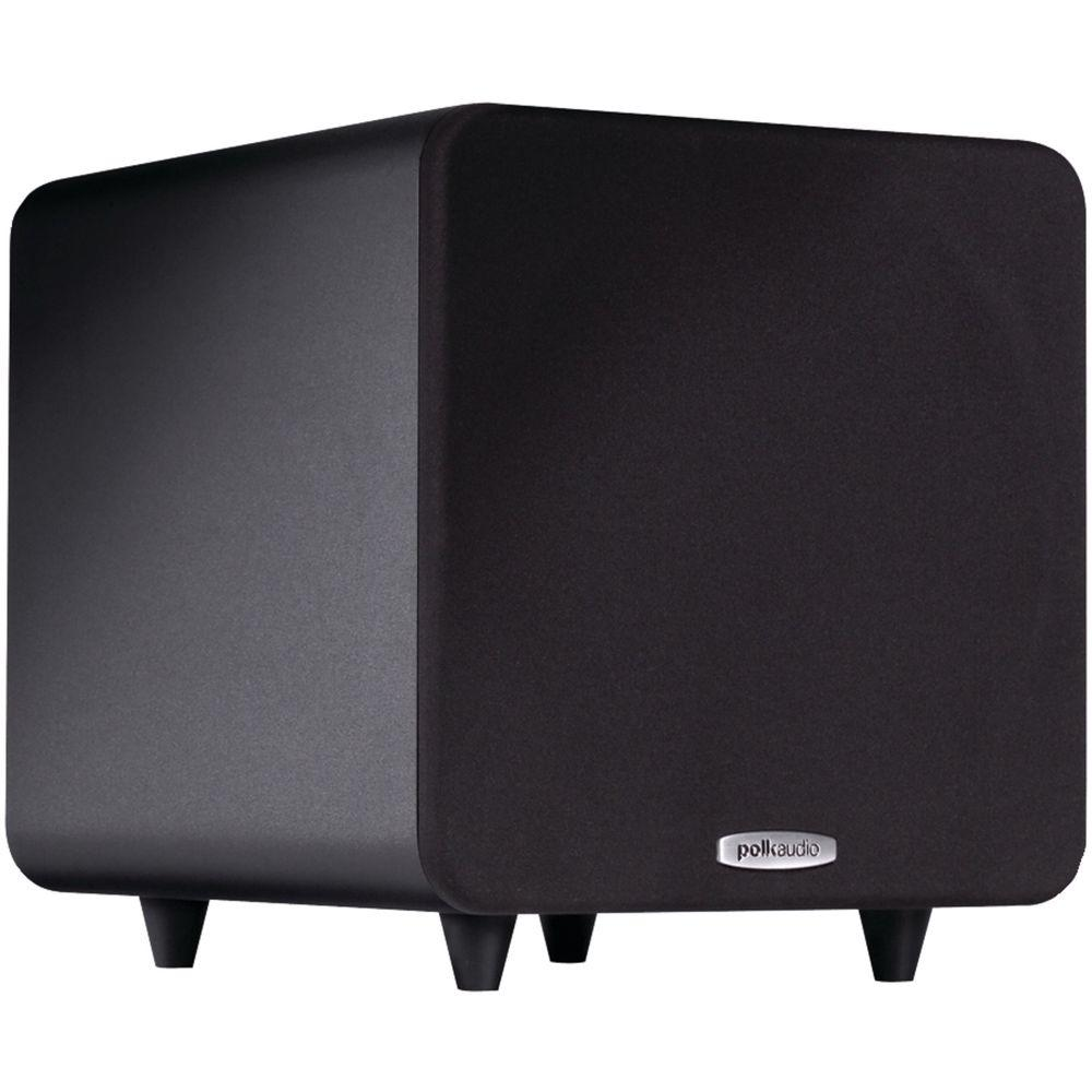hight resolution of polk audio 8 in compact powered subwoofer