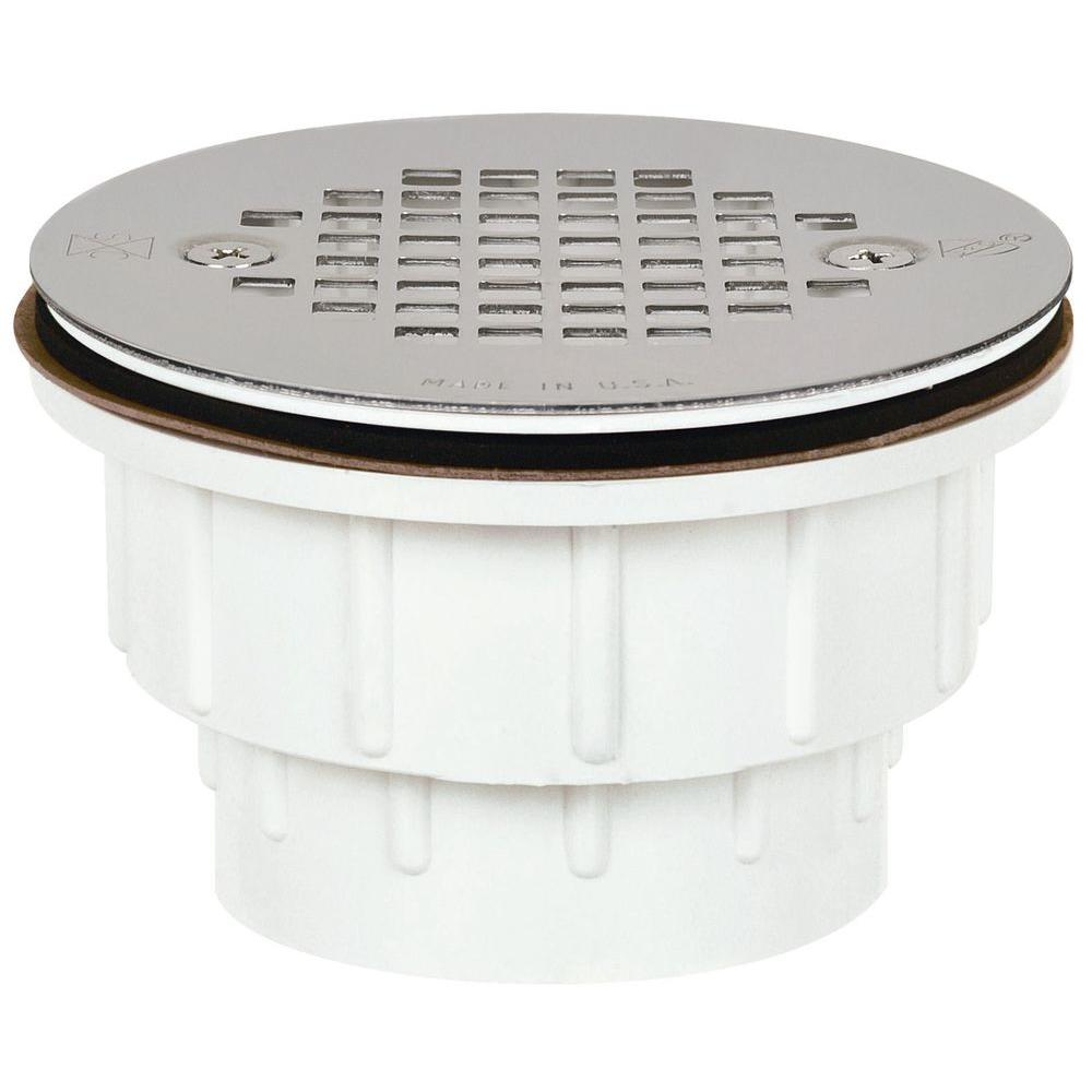 Sioux Chief 2 in PVC Shower Drain with Strainer8252PPK