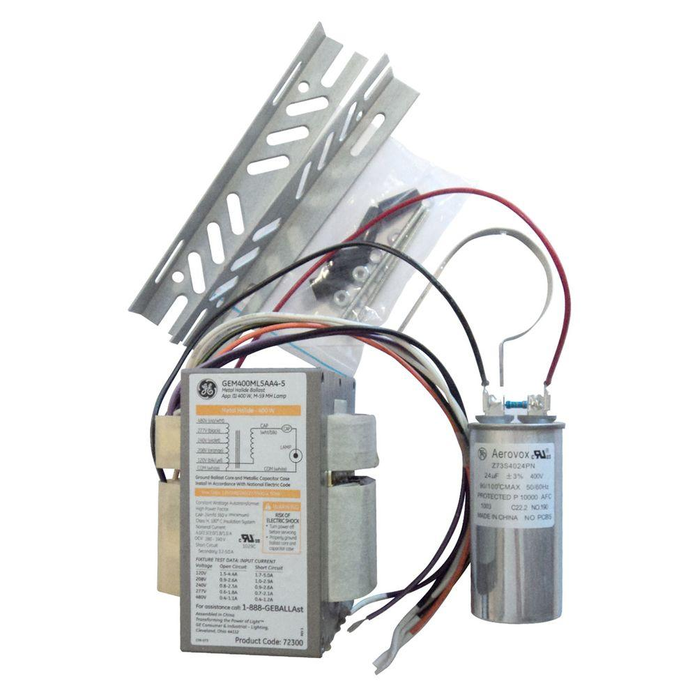 hight resolution of ge magnetic ballast for 400 watt metal halide case of 3