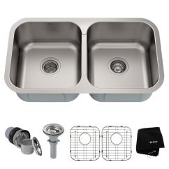 Stainless Kitchen Sinks Aid Pro 500 Kraus Premier Undermount Steel 15 In Rectangular Single This Review Is From 32 50 Double Bowl Sink