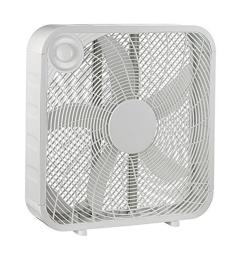 white box high velocity fan with 3 setting speeds [ 1000 x 1000 Pixel ]