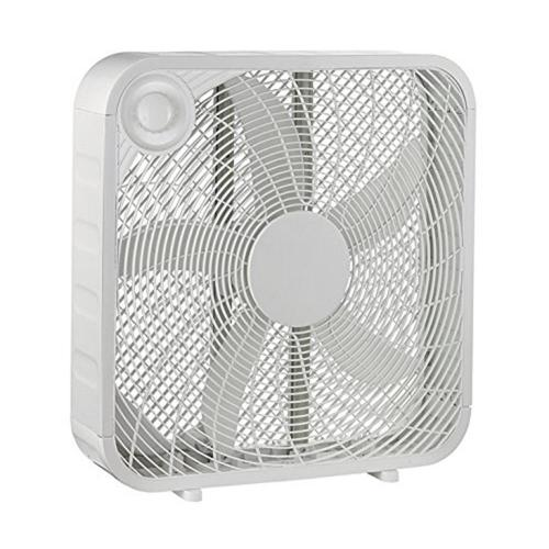 small resolution of white box high velocity fan with 3 setting speeds