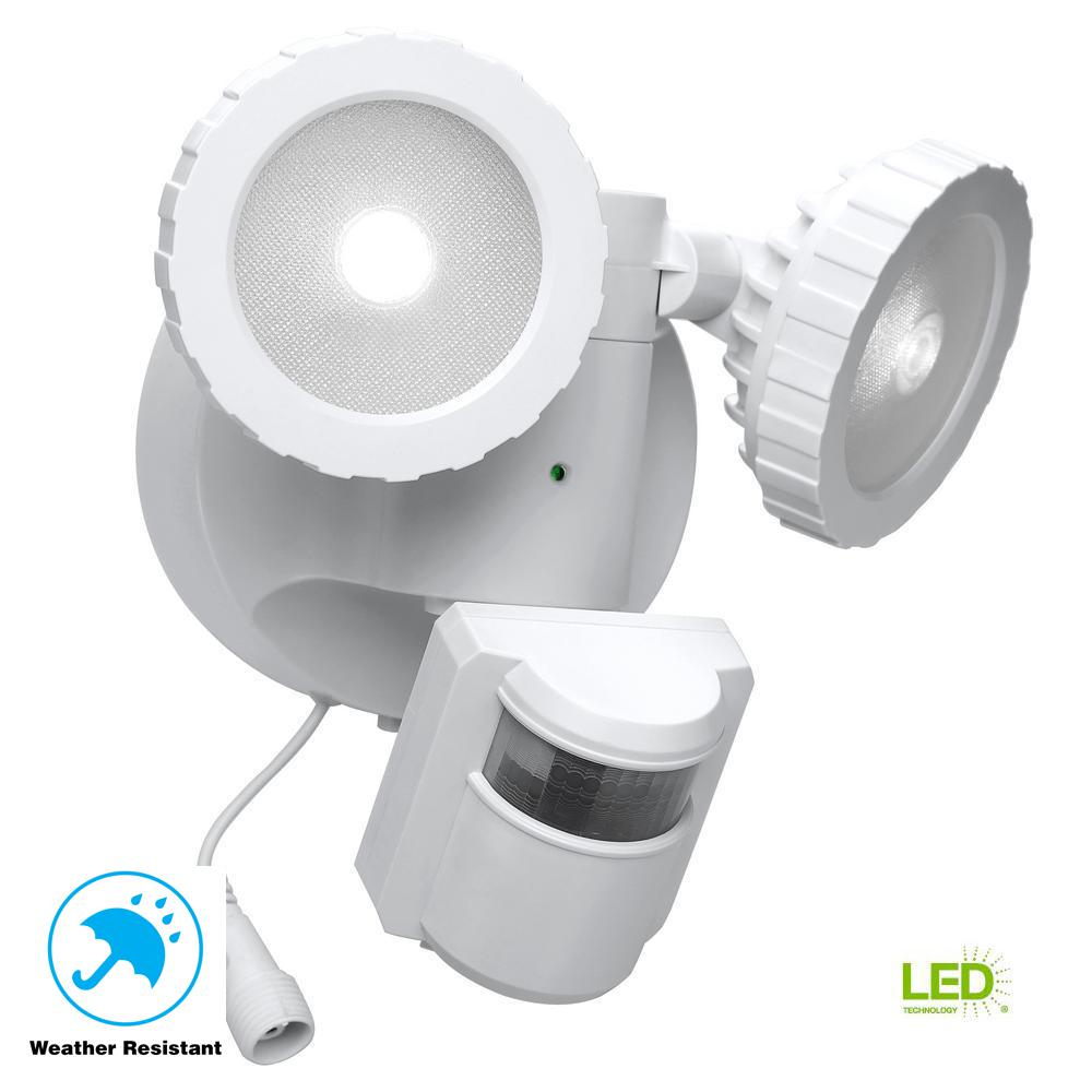 hight resolution of 180 degree white solar powered motion activated outdoor integrated led flood light