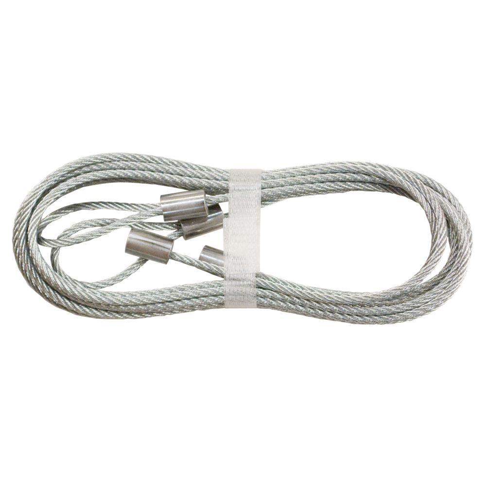hight resolution of 8 ft garage door safety cable