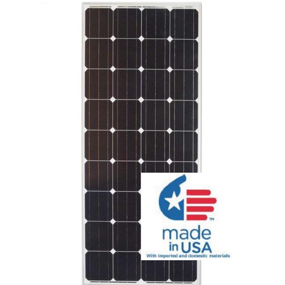 medium resolution of 180 watt monocrystalline pv solar panel for cabins rv s and back up power systems