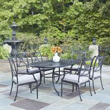 Home Styles Athens Charcoal 7-piece -weather Cast