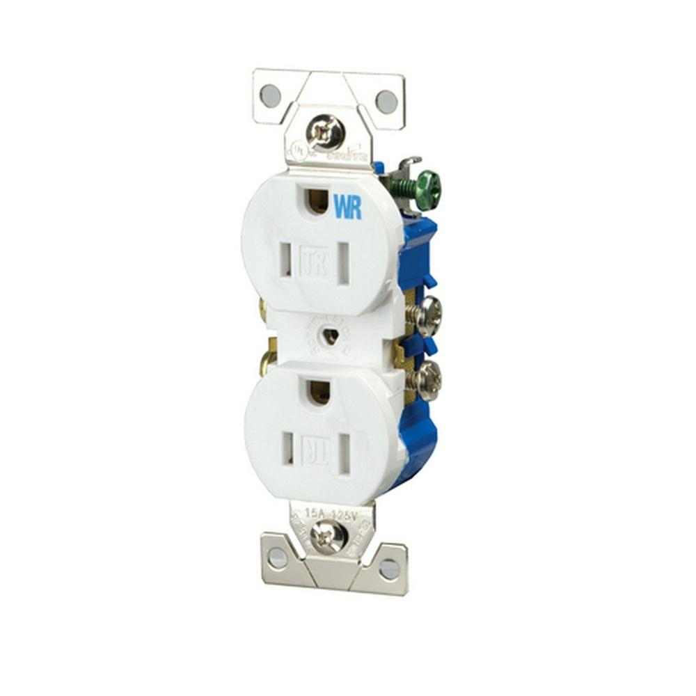 hight resolution of eaton 15 amp 125 volt tamper and weather resistant duplex electrical outlet white