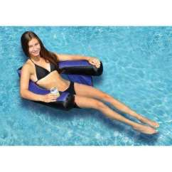 Chair Pool Floats Real Leather Club Floating Chairs Swimline Supplies The 32
