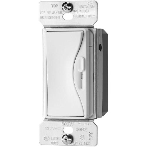 small resolution of 300 watt 3 way dimmable led cfl dimmer with preset in alpine white