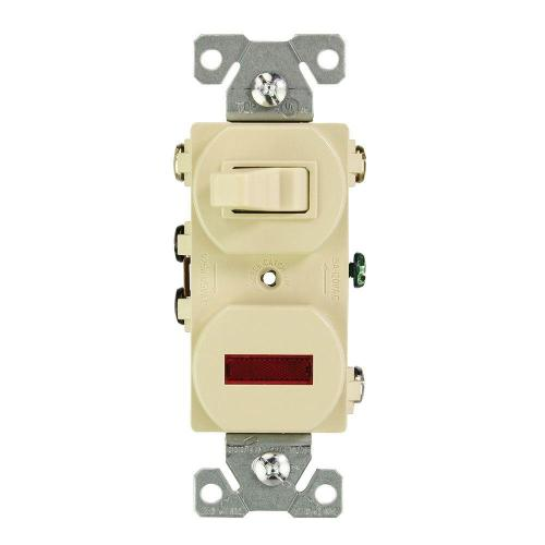 small resolution of eaton 15 amp 120 volt combination 3 way switch and pilot light ivory