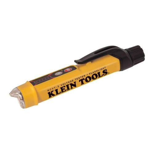 small resolution of klein tools non contact voltage tester with flashlight