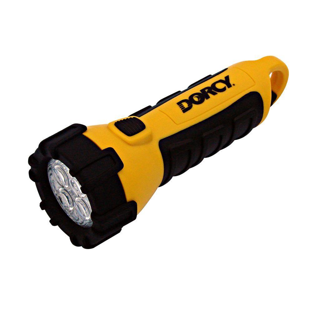 medium resolution of 55 lumen 3 aa 4 led carabineer flashlight with battery