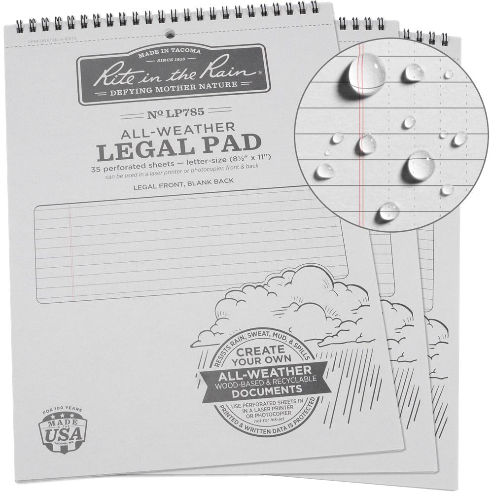 hight resolution of legal pattern pad gray cover 3 pack
